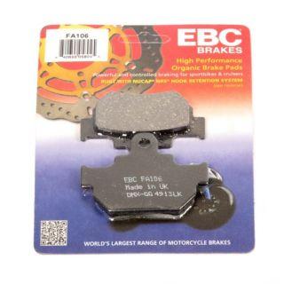 "EBC Carbon Graphite ""X-Series"" Brake Pad (FA106)"