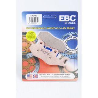 EBC 'R' Long Life Sintered Front or Rear Brake Pad for Multiple Brands of ATV/UTV
