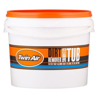 Twin Air Air filter cleaning tub with filter tray