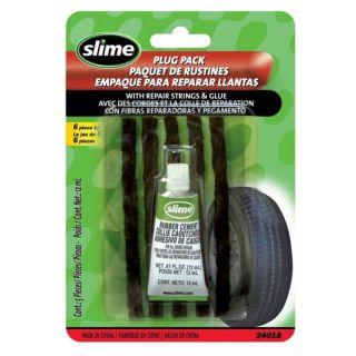 Slime Tire Repair Plugs With Glue