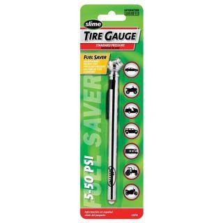 Slime 5-50 PSI Pencil Tire Gauge