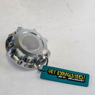RJWC El Patron Tag Gas Cap - Silver