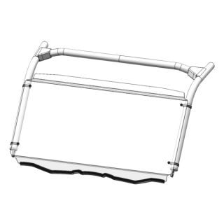 Direction 2 Complete Foldable Full Windshield Front - Yamaha - Lexan Polycarbonate