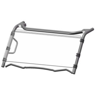 Direction 2 Complete Foldable Full Windshield Front - Kawasaki - Lexan Polycarbonate