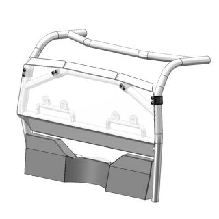 Direction 2 Rear Window for CF-Moto