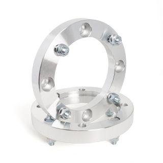 "Kimpex 1"" Wheel Spacers for Various Polaris ATV's/UTV's (4/156, 3/8"" x 24 thread), Qty 2"