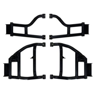 """SuperATV High Clearance 1.5"""" Raked A-Arms for Honda Pioneer 1000"""
