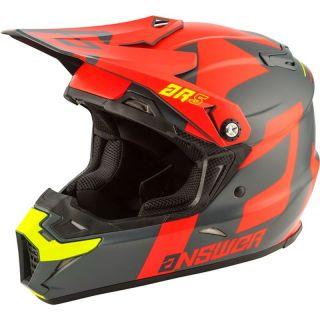 Answer Racing AR5 Off-Road Helmet - Hyper Orange/Charcoal/Hyper Acid