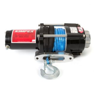 Kimpex 2500 lbs Winch with Synthetic Rope