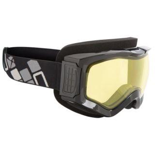 CKX Triple Layered Comanche Goggles, Winter Black