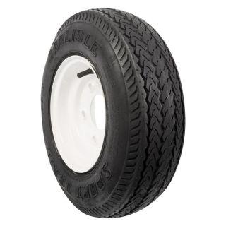 Carlisle Sport Trail Tire & White Wheel Assembly