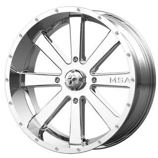 MSA Wheels Chrome M34 FLASH (4X137)