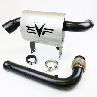 """Evolution Powersports Can-Magnus 3"""" Turbo Full Back Exhaust System for Am Maverick X3"""