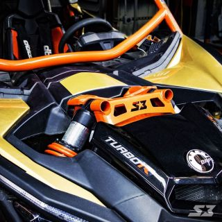S3 Powersports Front Shock Tower Brace for Can-Am Maverick X3 2017+
