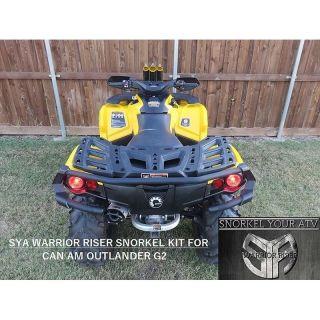 SYA Warrior Riser Snorkel Kit for Gen 2 Can-Am Outlander 2012-2019