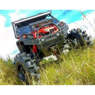Wild Boar Front Winch Bumper with LED Lights for Can-Am Commander 800/1000 (2011-2020)