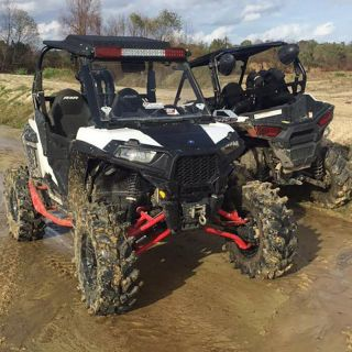 """Outkast Fabworx 5"""" Lift Kit and """"Conversion"""" from RZR Trail to S for Polaris RZR 900"""