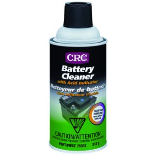 CRC Battery Cleaner with Acid Indicator 12 oz