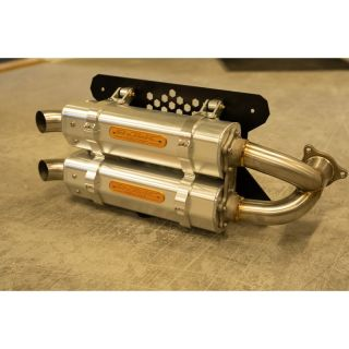 RJWC Powersport APX/AL Dual Exhaust for Can-Am X3 (all models)