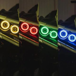 RJWC Neutrino 2 LED Lights - Replacement Coloured Halo